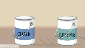 Chalk paint is decorative paint, so can you apply polyurethane over chalk paint? Yes, polyurethane will protect chalk paint.